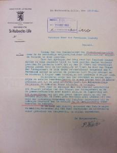 bron: Provinciearchief Hasselt, archief WO II, doos 33, dossier 36